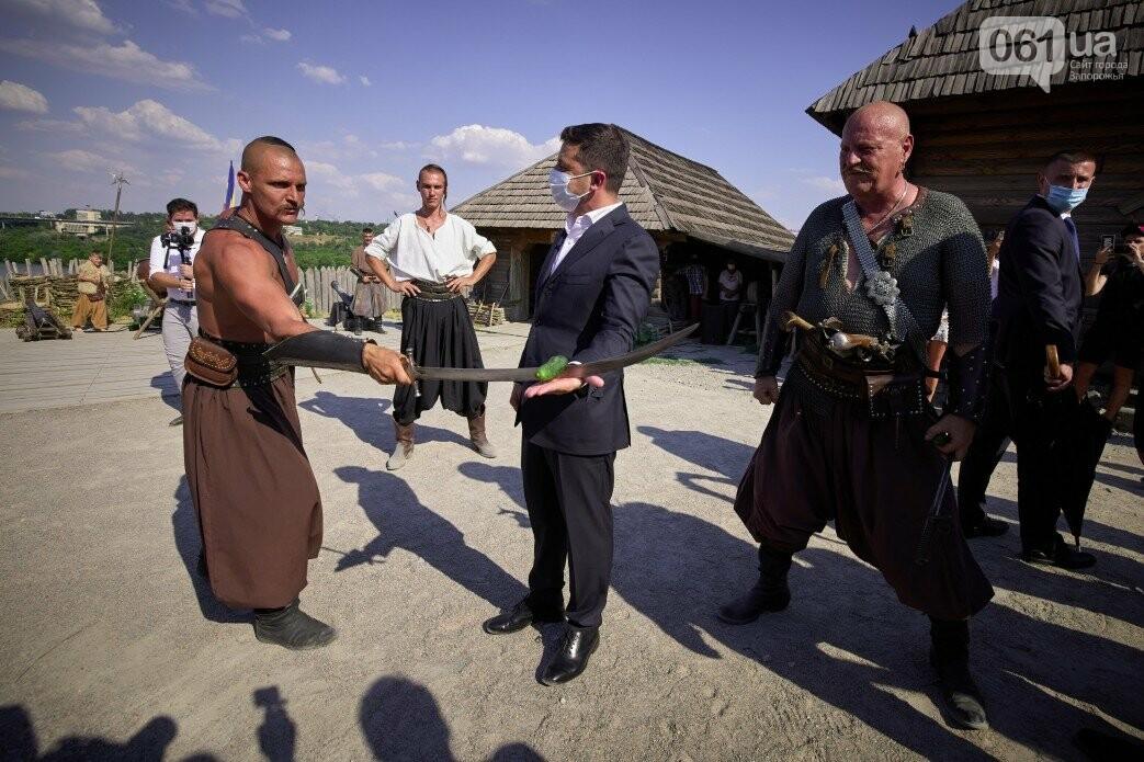 Визит Зеленского в Запорожье в фотографиях и высказываниях, фото-47