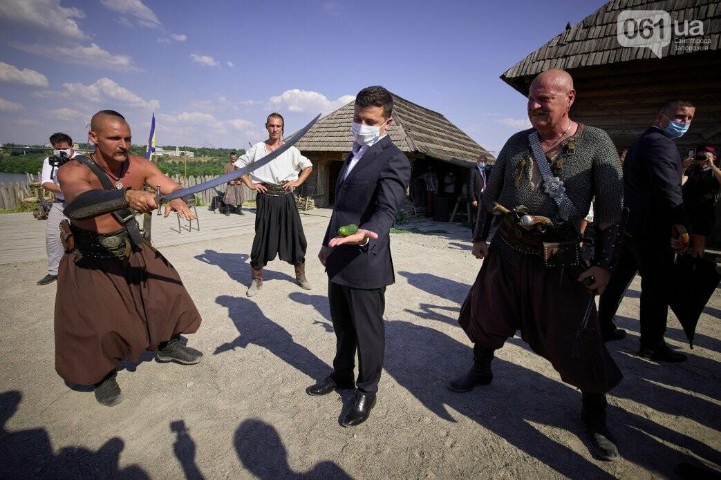 Визит Зеленского в Запорожье в фотографиях и высказываниях, фото-48