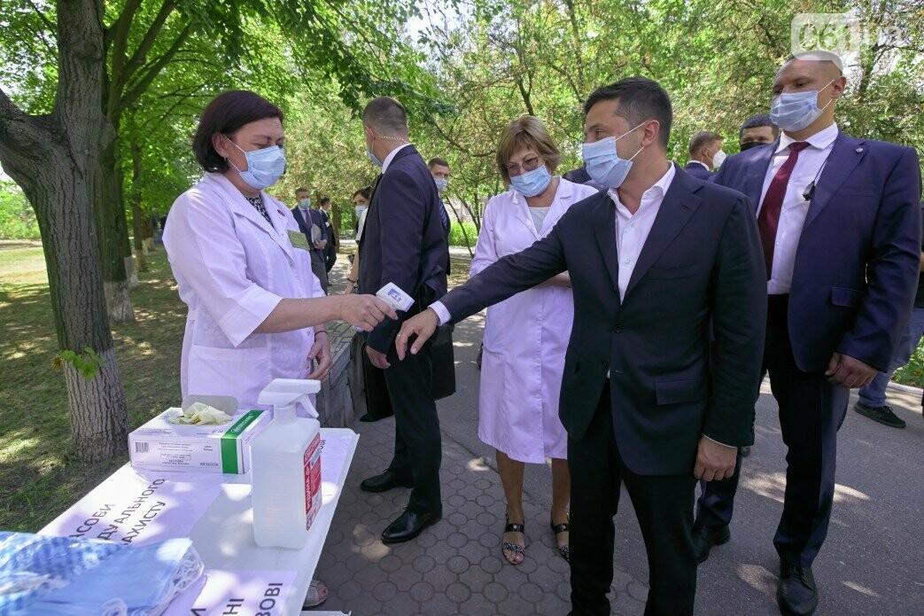 Визит Зеленского в Запорожье в фотографиях и высказываниях, фото-8