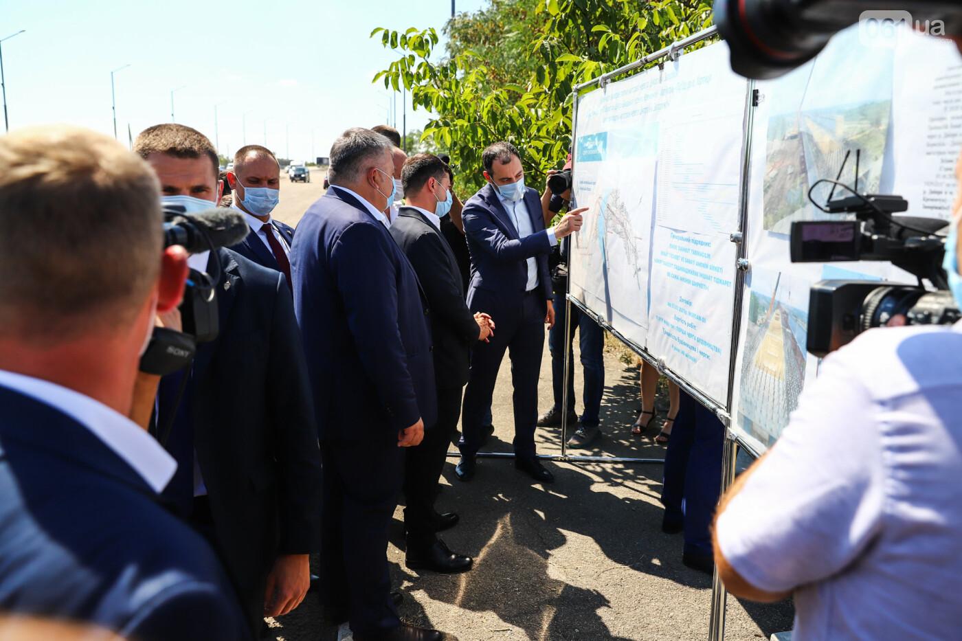 Визит Зеленского в Запорожье в фотографиях и высказываниях, фото-29