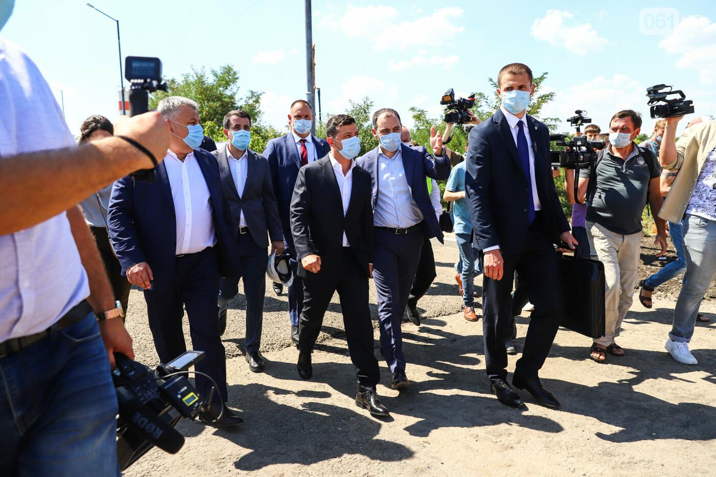 Визит Зеленского в Запорожье в фотографиях и высказываниях, фото-30