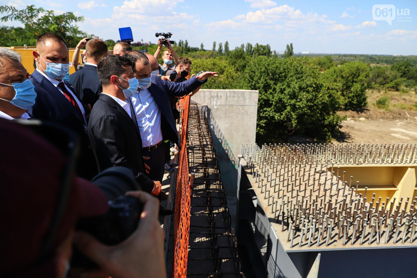 Визит Зеленского в Запорожье в фотографиях и высказываниях, фото-31