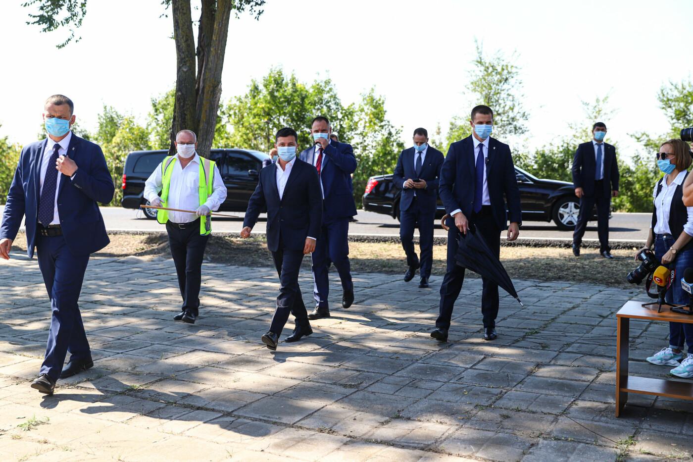 Визит Зеленского в Запорожье в фотографиях и высказываниях, фото-9