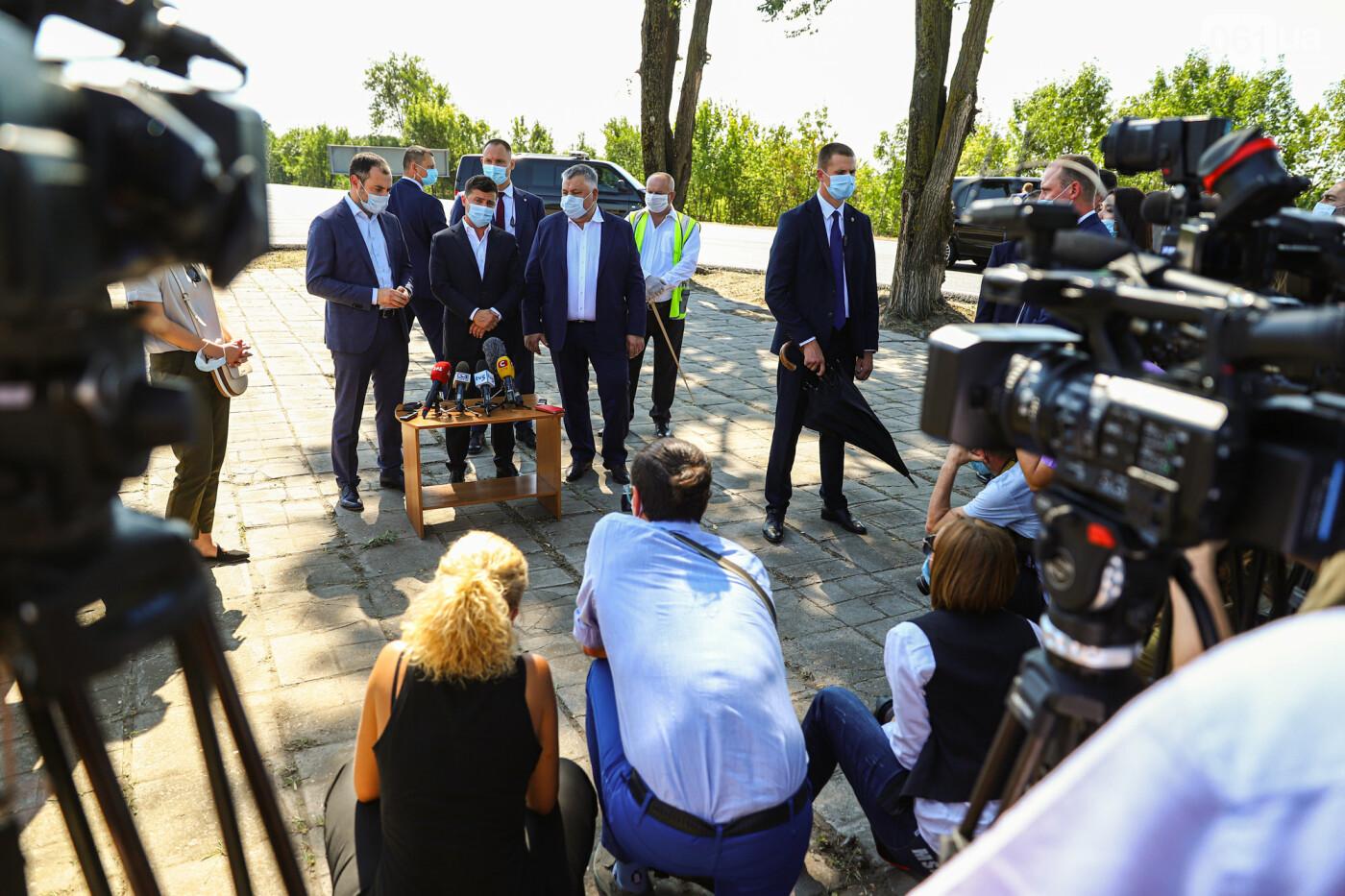 Визит Зеленского в Запорожье в фотографиях и высказываниях, фото-23
