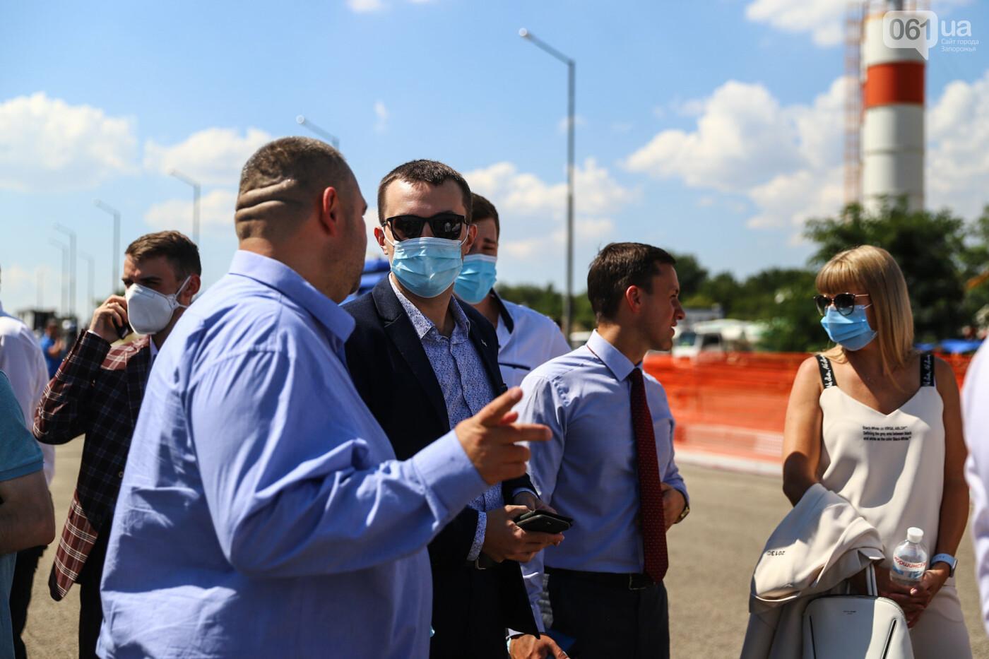Визит Зеленского в Запорожье в фотографиях и высказываниях, фото-36