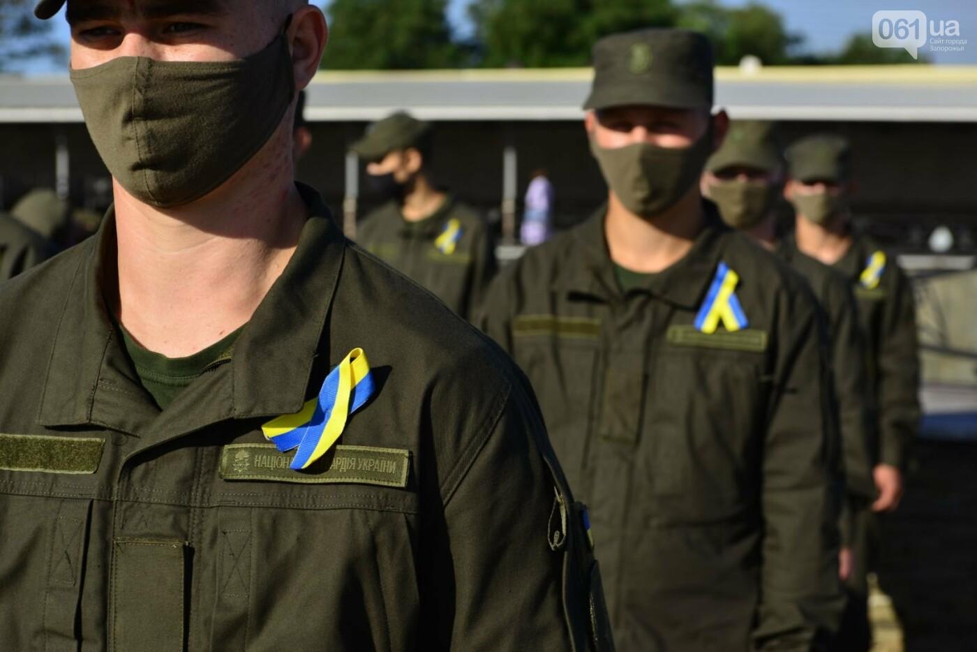 Впервые на Хортице развернули 100-метровый флаг Украины, - ФОТОРЕПОРТАЖ, фото-15