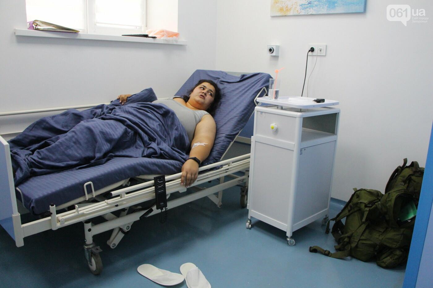 Похудеть на 40 кг, вернуться в украинскую армию и прыгнуть с парашютом: как Галине с Донбасса помогают исполнить мечту в запорожской клинике, фото-4