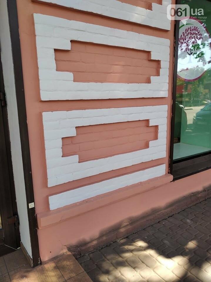 В Запорожье перекрашивают фасад знаменитого дома Лещинского - цвет краски подбирал главный художник города , фото-5