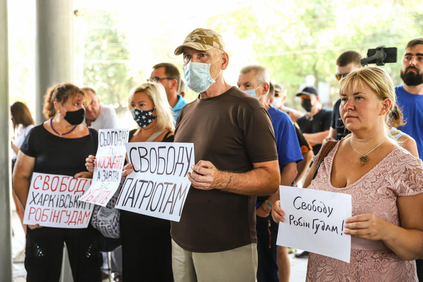 """Захист країни - не злочин"": в Запорожье патриоты провели митинг у стен нацполиции, - ФОТОРЕПОРТАЖ , фото-9"