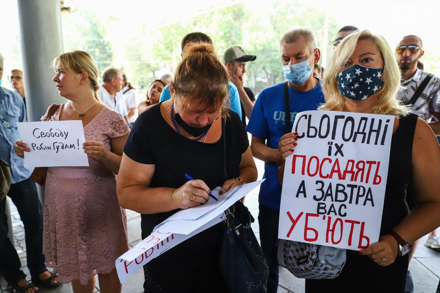 """Захист країни - не злочин"": в Запорожье патриоты провели митинг у стен нацполиции, - ФОТОРЕПОРТАЖ , фото-23"