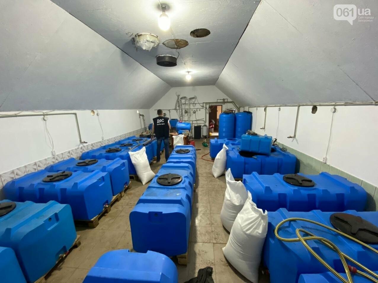 В Запорожской области накрыли подпольный цех по производству алкоголя, - ФОТО, фото-5