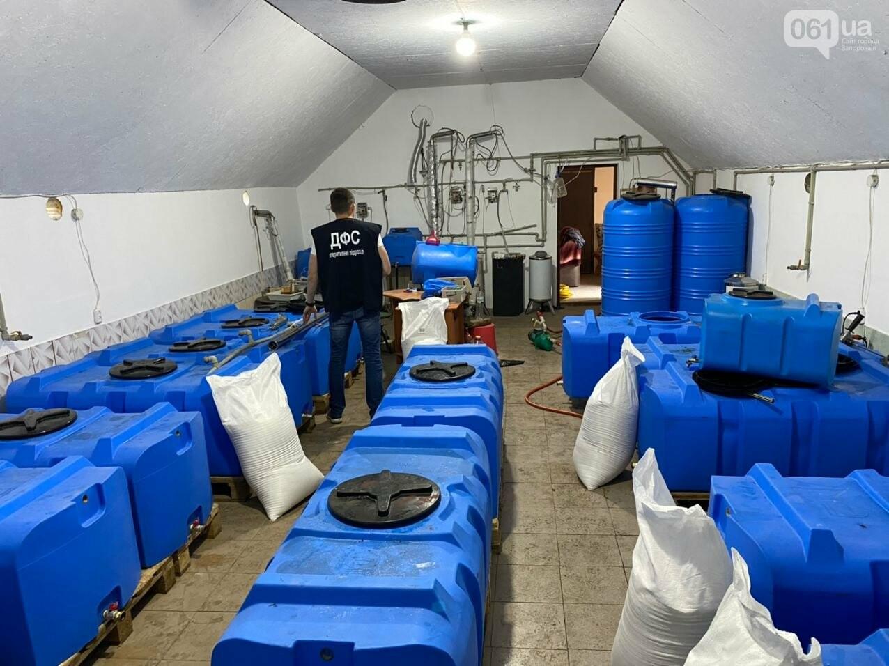 В Запорожской области накрыли подпольный цех по производству алкоголя, - ФОТО, фото-7
