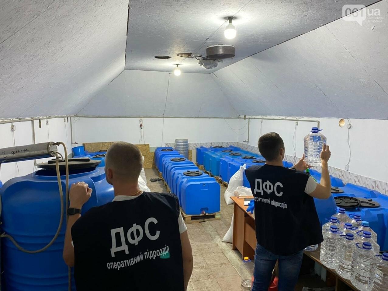 В Запорожской области накрыли подпольный цех по производству алкоголя, - ФОТО, фото-1