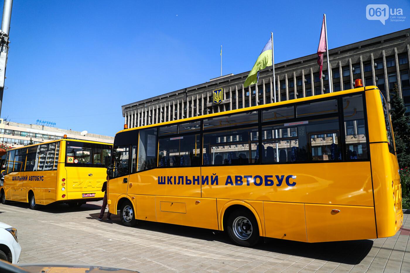 Громадам передали вторую партию школьных автобусов, собранных на ЗАЗ, - ФОТО, фото-8