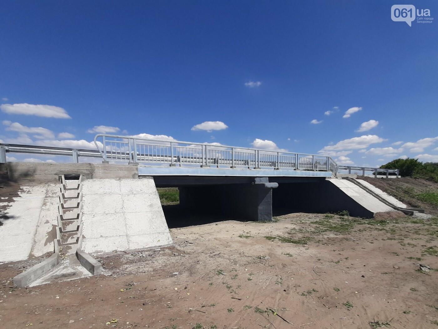 В Запорожской области на трассе Васильевка-Бердянск отремонтировали 12-метровый мост , фото-4