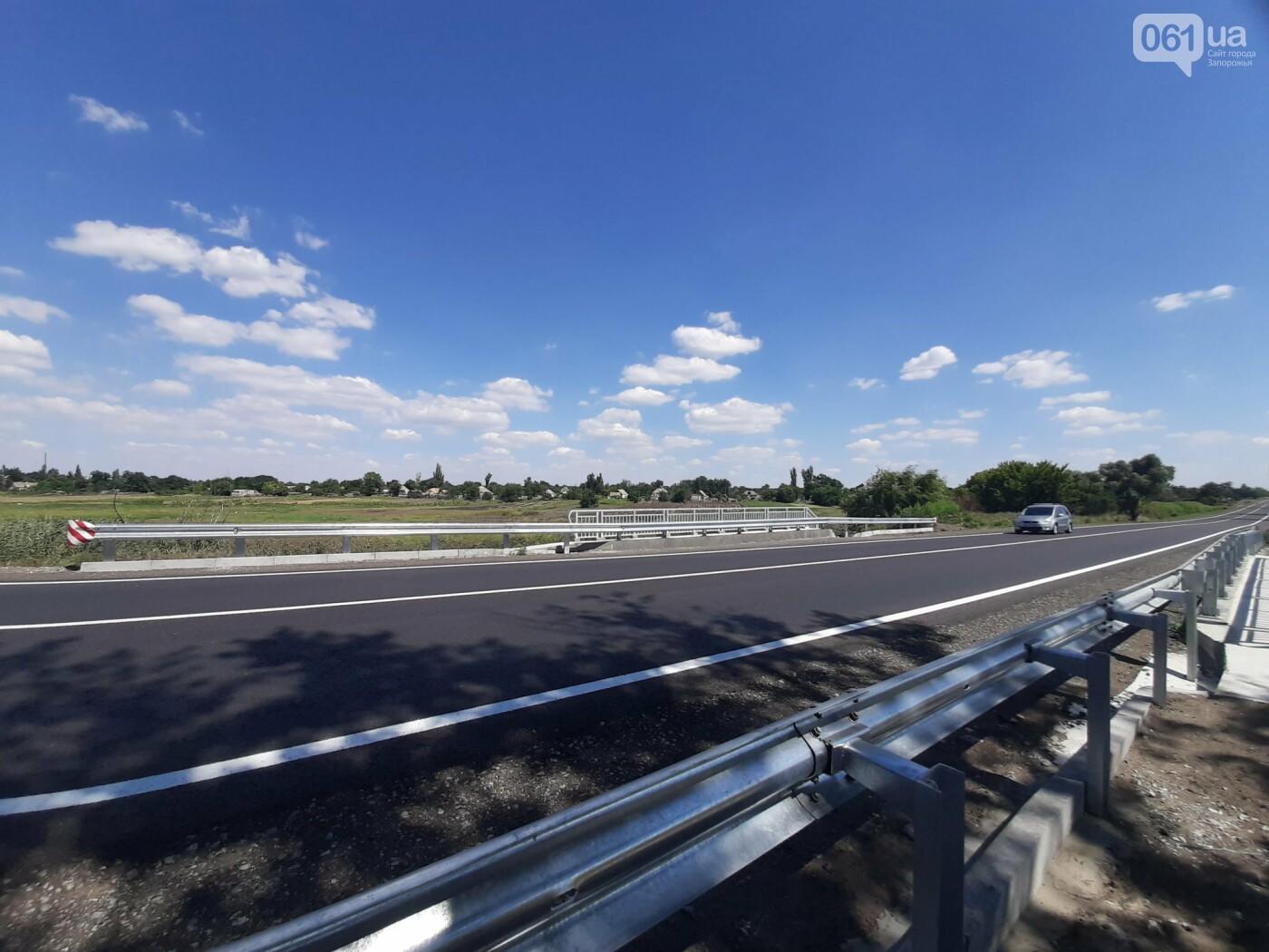 В Запорожской области на трассе Васильевка-Бердянск отремонтировали 12-метровый мост , фото-5