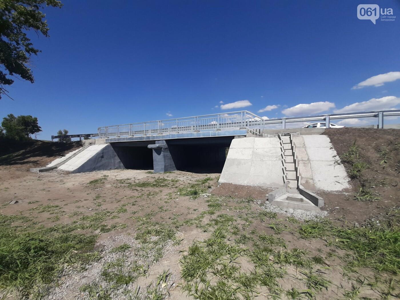 В Запорожской области на трассе Васильевка-Бердянск отремонтировали 12-метровый мост , фото-3