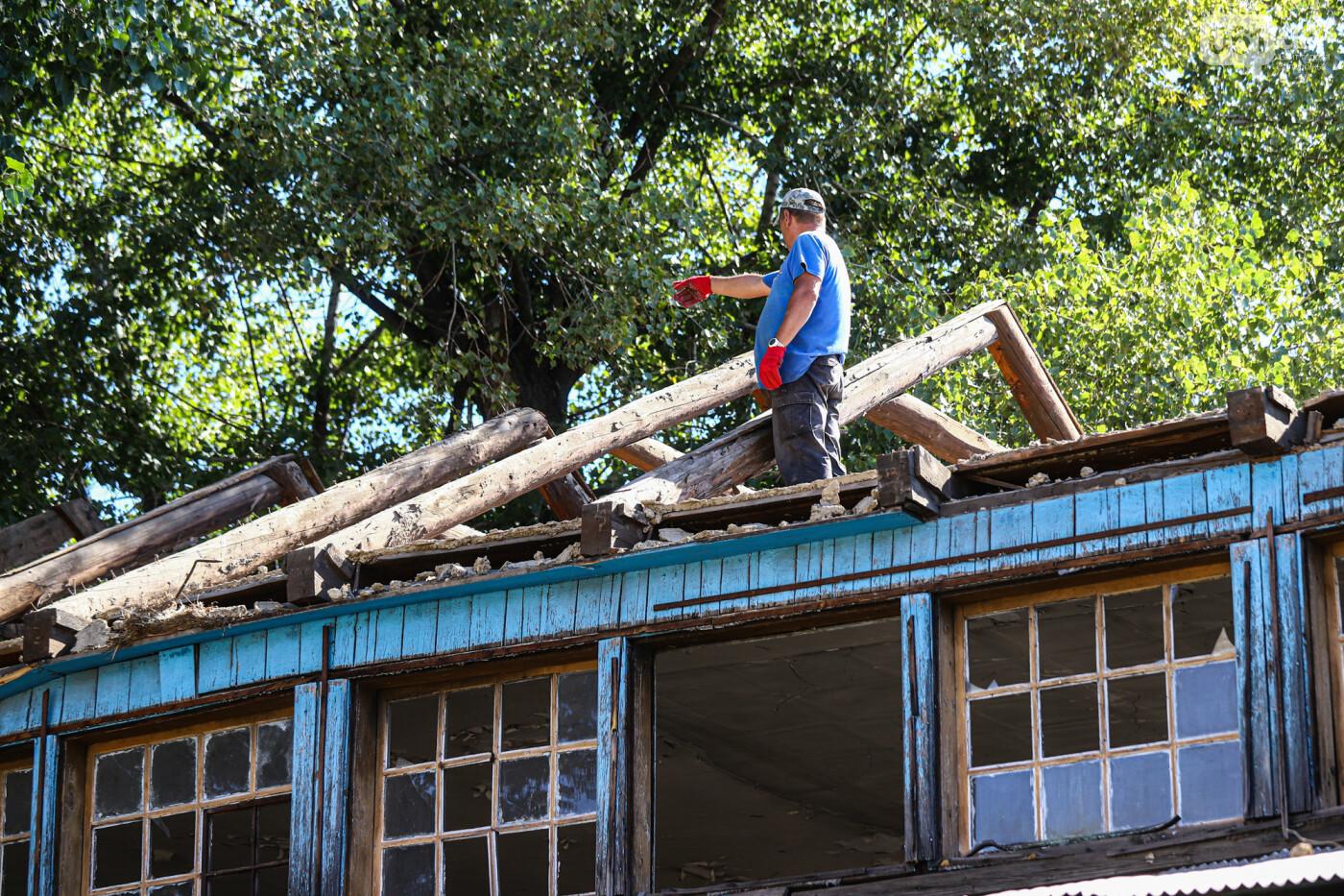 """""""Дело пономарей"""": в Запорожье начали разбирать храм, который пострадал в результате взрыва, - ФОТОРЕПОРТАЖ, фото-4"""