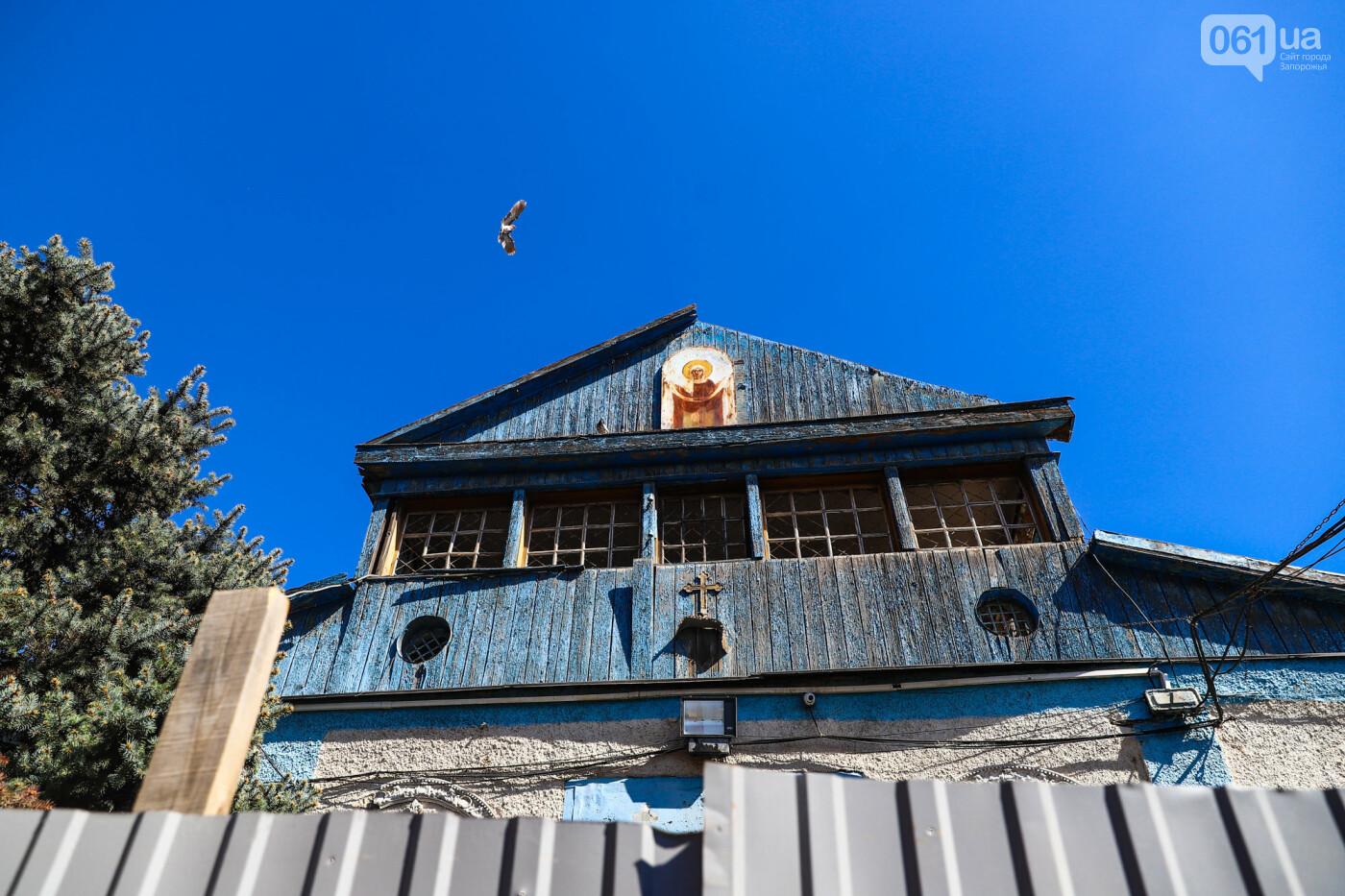 """""""Дело пономарей"""": в Запорожье начали разбирать храм, который пострадал в результате взрыва, - ФОТОРЕПОРТАЖ, фото-12"""