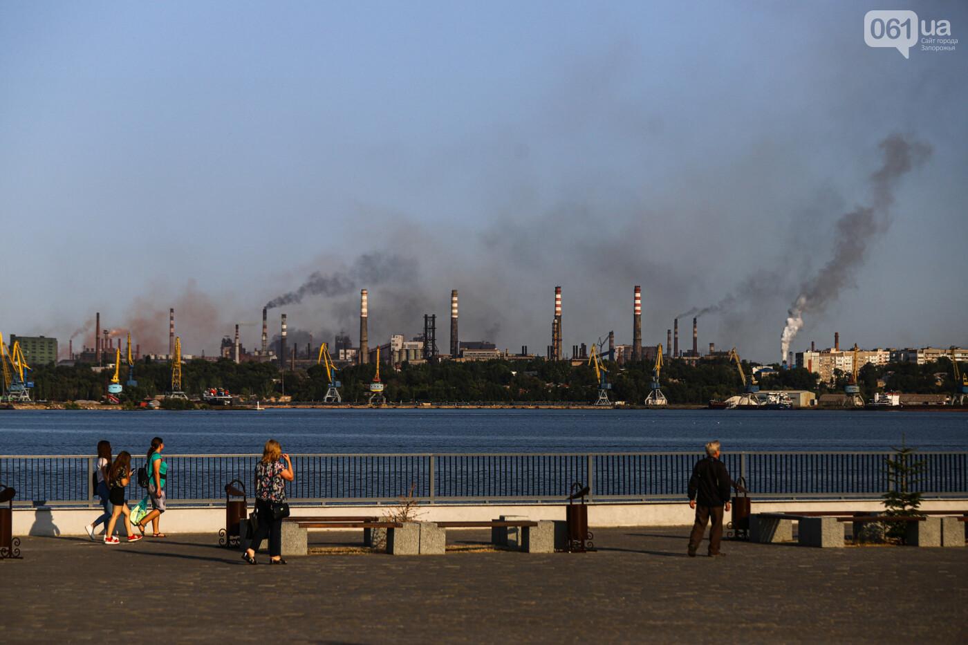 Запорожцы выйдут на митинг за чистый воздух - 10 фото о том, почему, фото-9