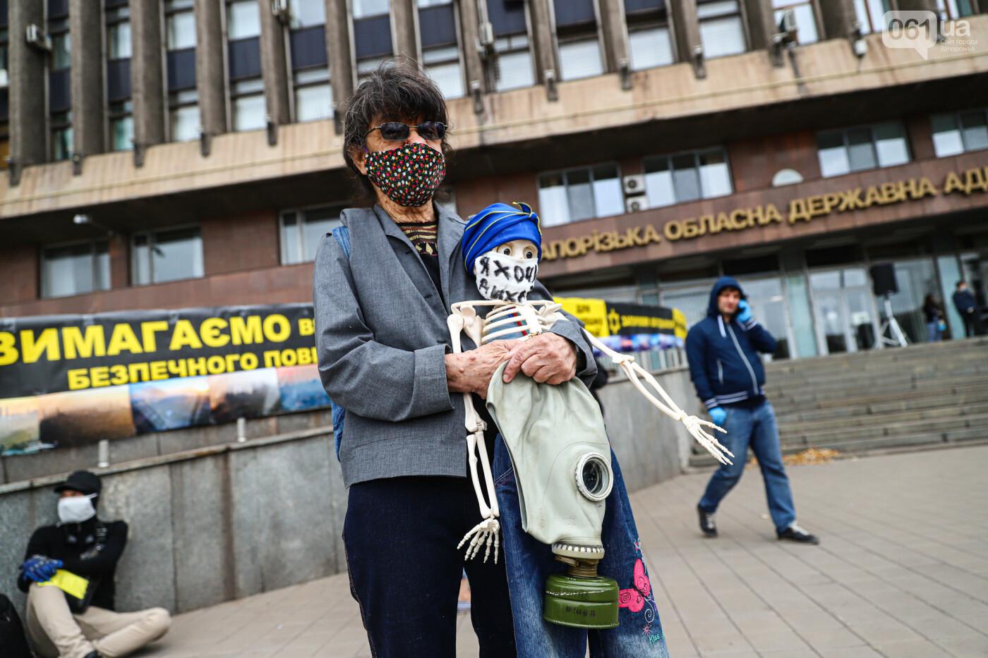 Маю право дихати: тысячи запорожцев вышли на экологический митинг, ФОТО, ВИДЕО, фото-7