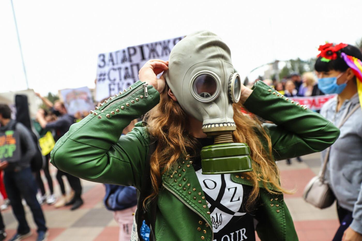 Маю право дихати: тысячи запорожцев вышли на экологический митинг, ФОТО, ВИДЕО, фото-29