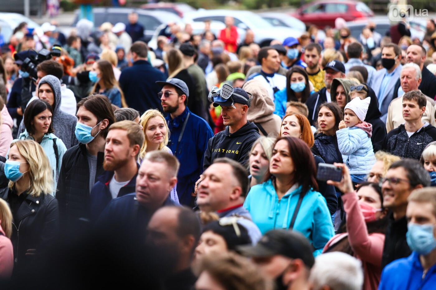 Маю право дихати: тысячи запорожцев вышли на экологический митинг, ФОТО, ВИДЕО, фото-37