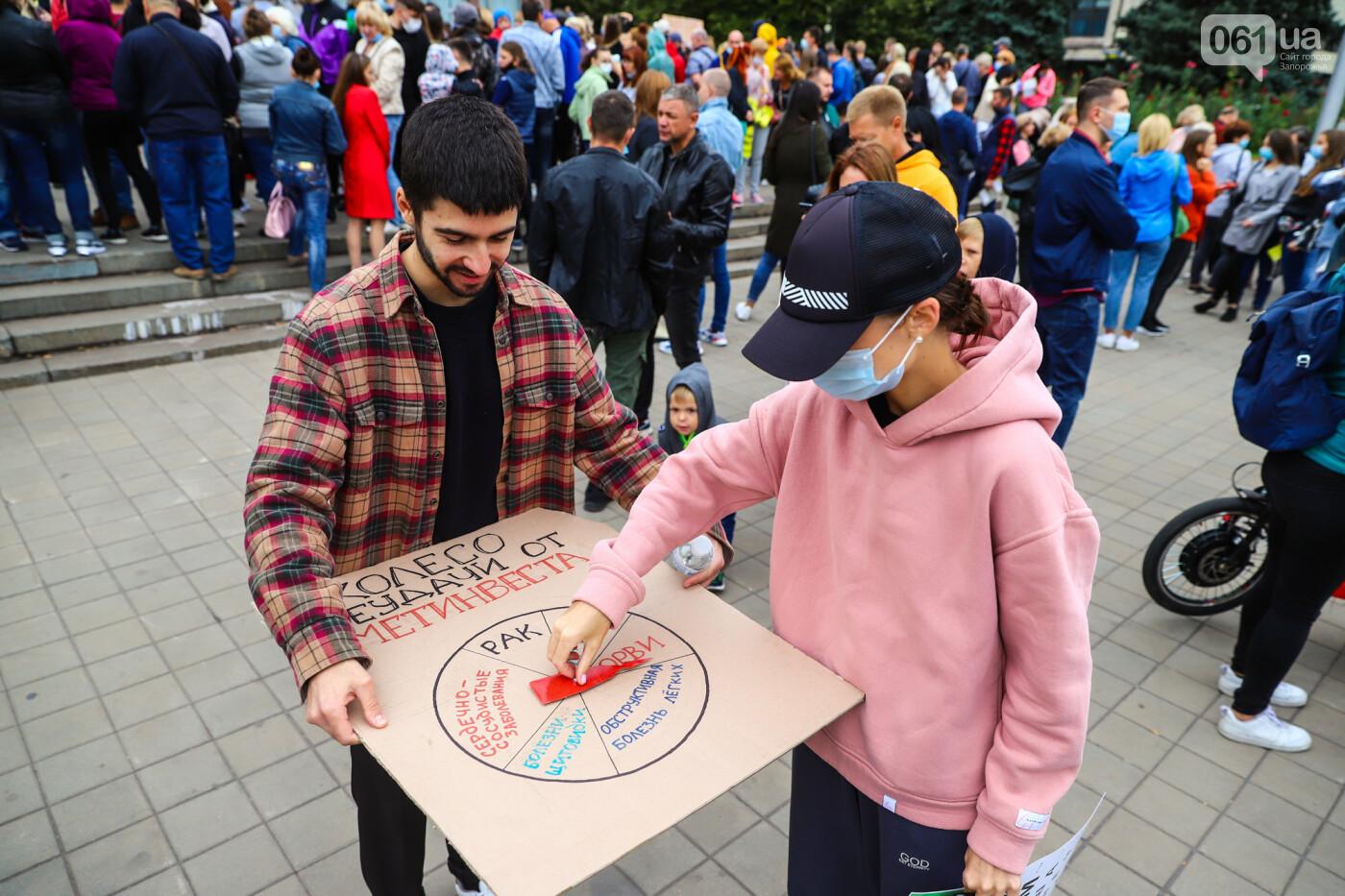 Маю право дихати: тысячи запорожцев вышли на экологический митинг, ФОТО, ВИДЕО, фото-40