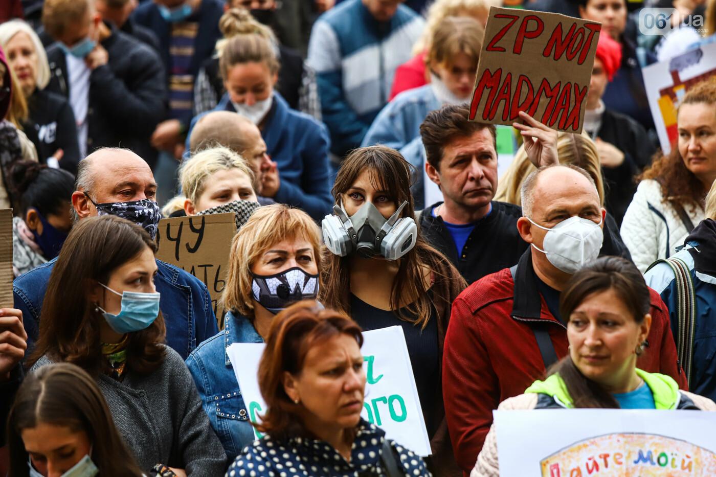 Маю право дихати: тысячи запорожцев вышли на экологический митинг, ФОТО, ВИДЕО, фото-53