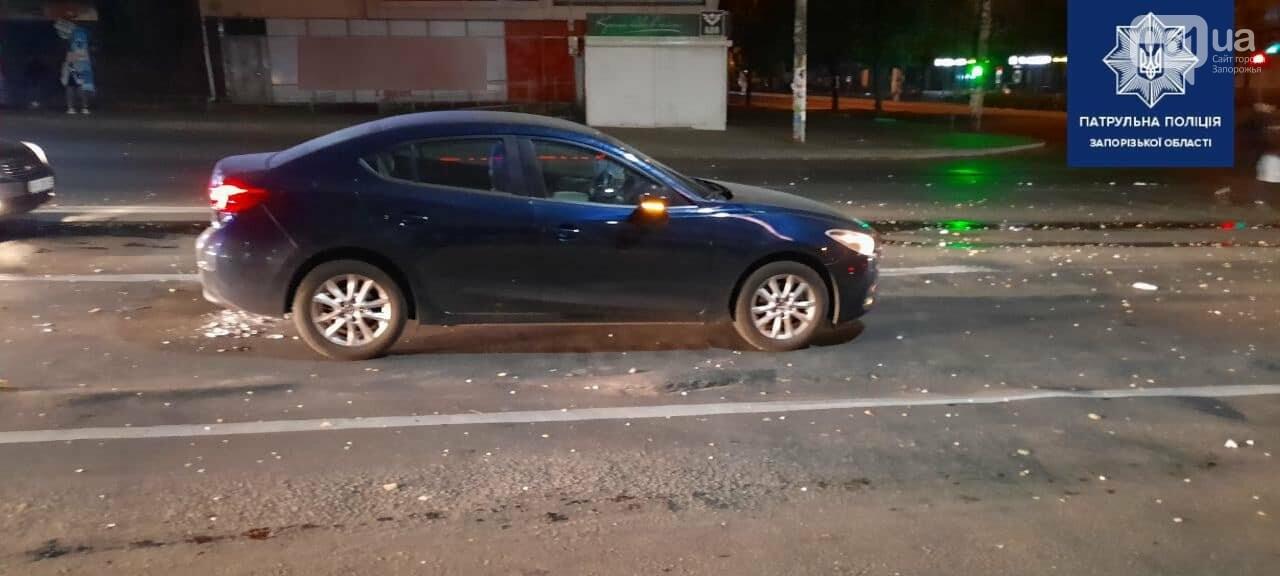 В Запорожье пьяный водитель попал в ДТП и попытался скрыться от полиции, фото-2