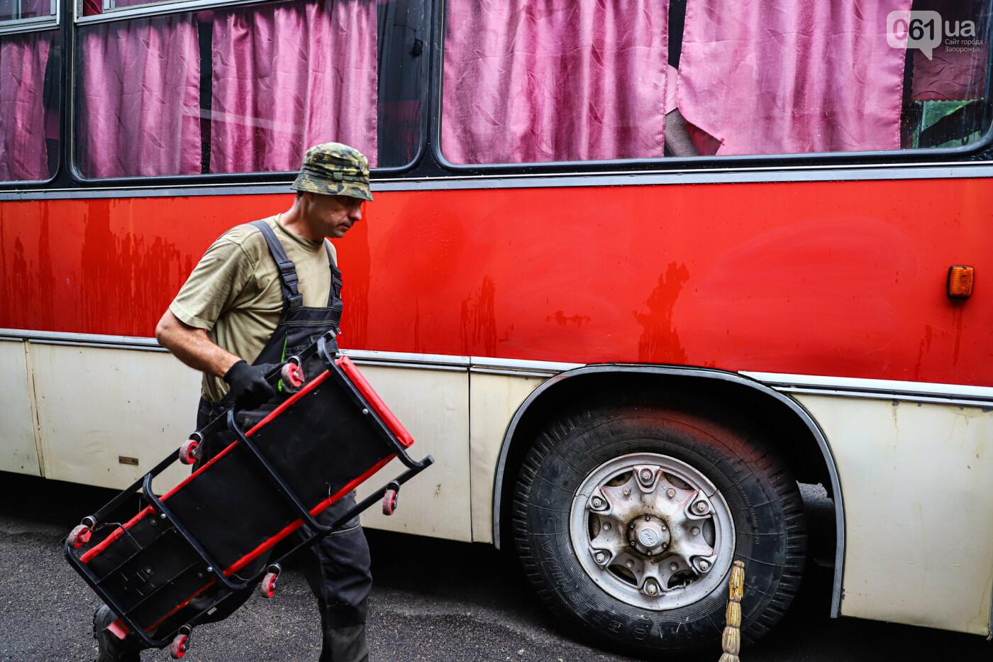 В Запорожье на месте зеленхоза одного из заводов появится Музей специального транспорта, - ФОТОРЕПОРТАЖ, фото-23