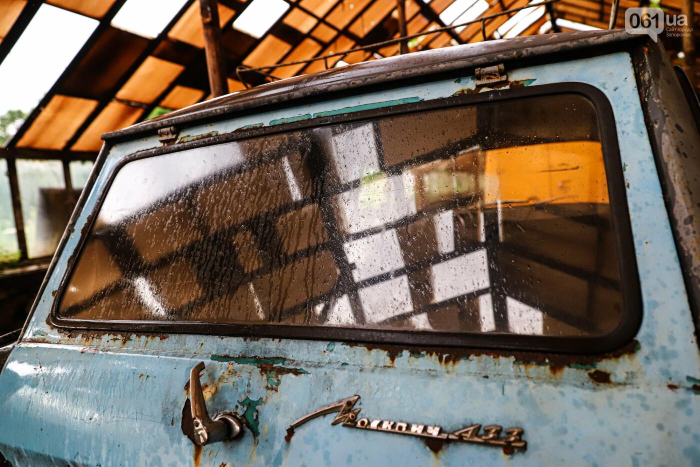 В Запорожье на месте зеленхоза одного из заводов появится Музей специального транспорта, - ФОТОРЕПОРТАЖ, фото-41