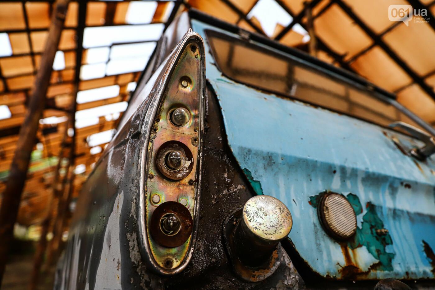 В Запорожье на месте зеленхоза одного из заводов появится Музей специального транспорта, - ФОТОРЕПОРТАЖ, фото-42