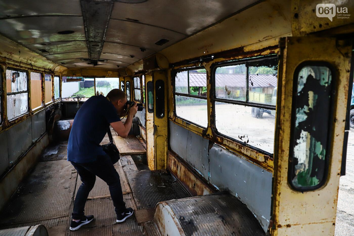 В Запорожье на месте зеленхоза одного из заводов появится Музей специального транспорта, - ФОТОРЕПОРТАЖ, фото-18