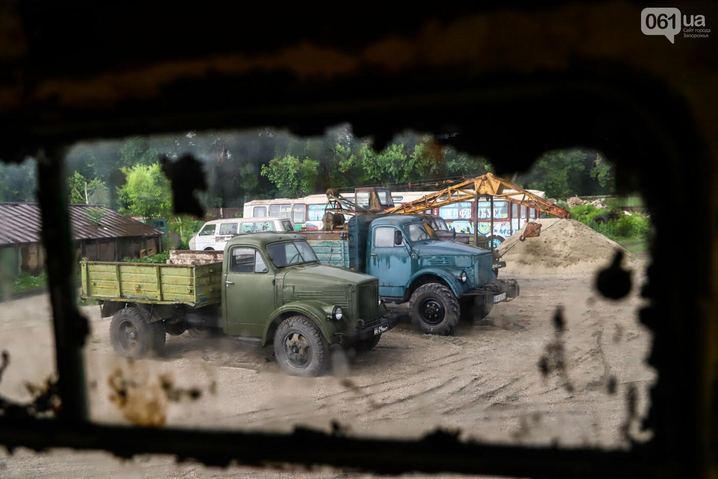 В Запорожье на месте зеленхоза одного из заводов появится Музей специального транспорта, - ФОТОРЕПОРТАЖ, фото-19