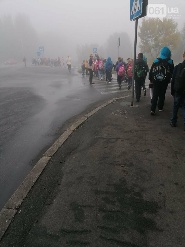 """В Запорожье одну из школ """"минируют"""" уже восьмой раз за месяц , фото-3"""