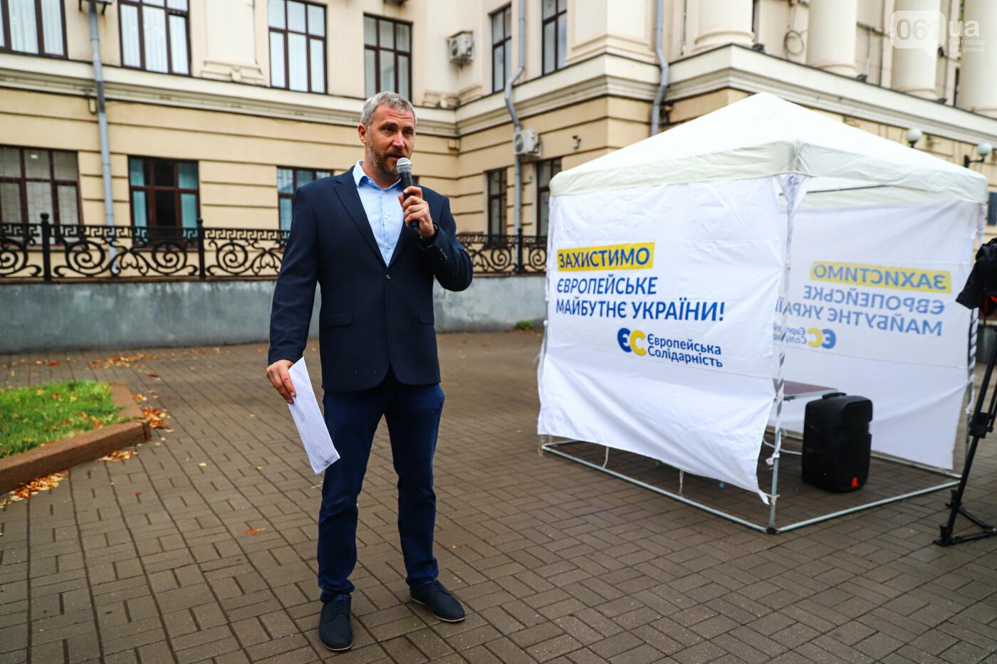 Кандидат в мэры Запорожья Валерий Прозапас вызвал Буряка на публичные дебаты, фото-1
