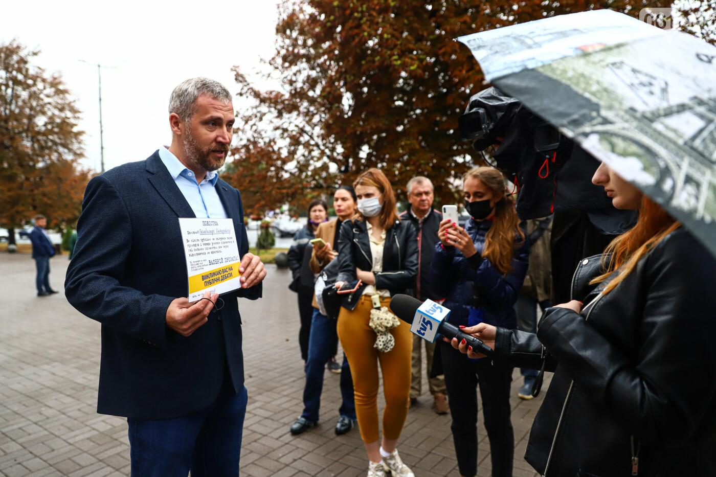 Кандидат в мэры Запорожья Валерий Прозапас вызвал Буряка на публичные дебаты, фото-9