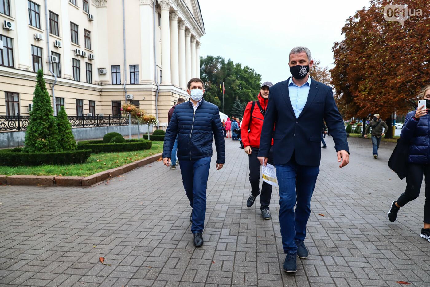 Кандидат в мэры Запорожья Валерий Прозапас вызвал Буряка на публичные дебаты, фото-11