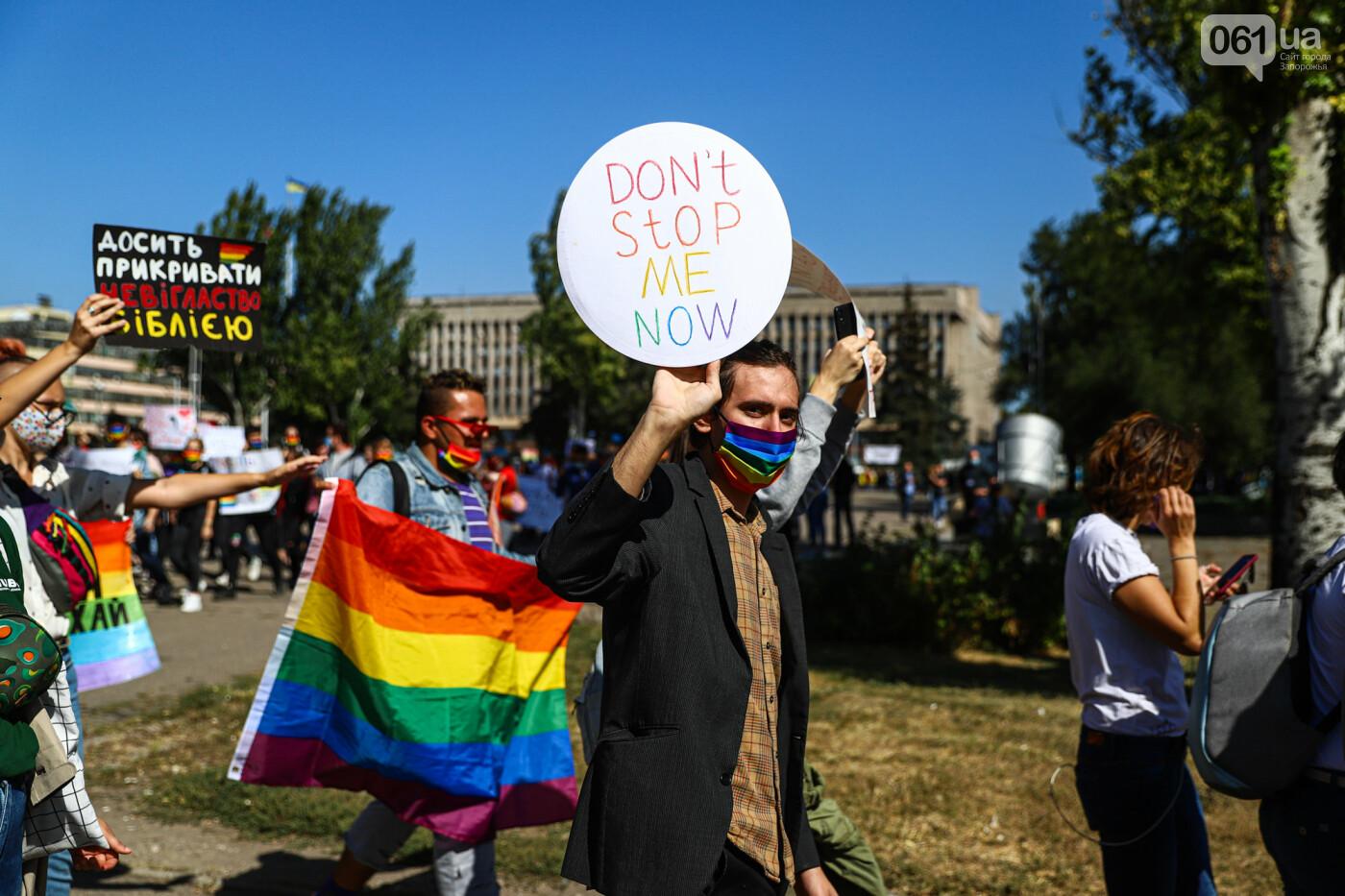 ЛГБТ-прайд, эко-митинг и восстановленные скульптуры в сквере Пионеров: сентябрь в фотографиях , фото-105