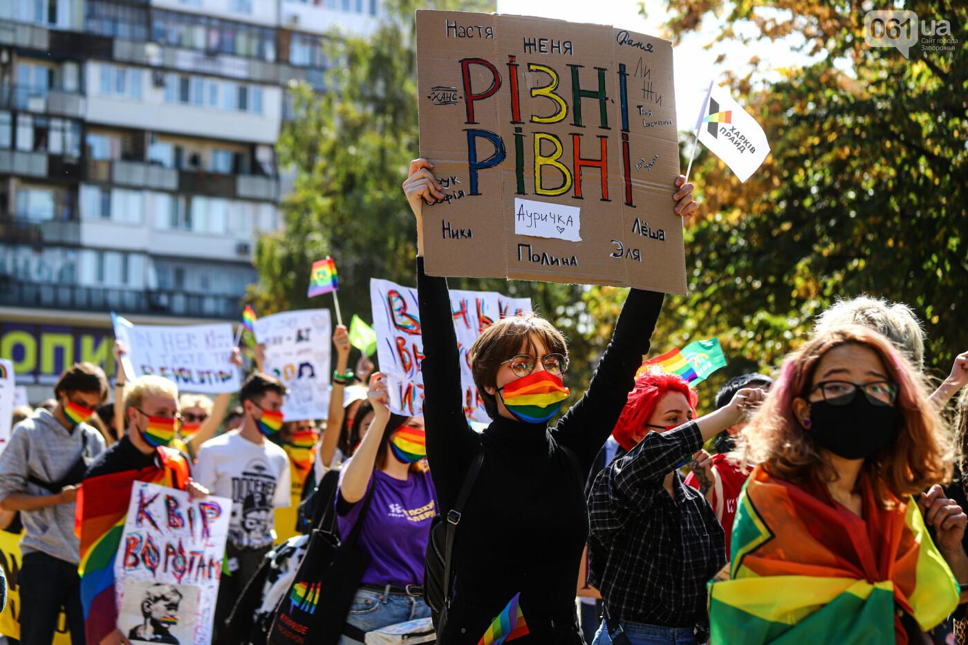 ЛГБТ-прайд, эко-митинг и восстановленные скульптуры в сквере Пионеров: сентябрь в фотографиях , фото-113