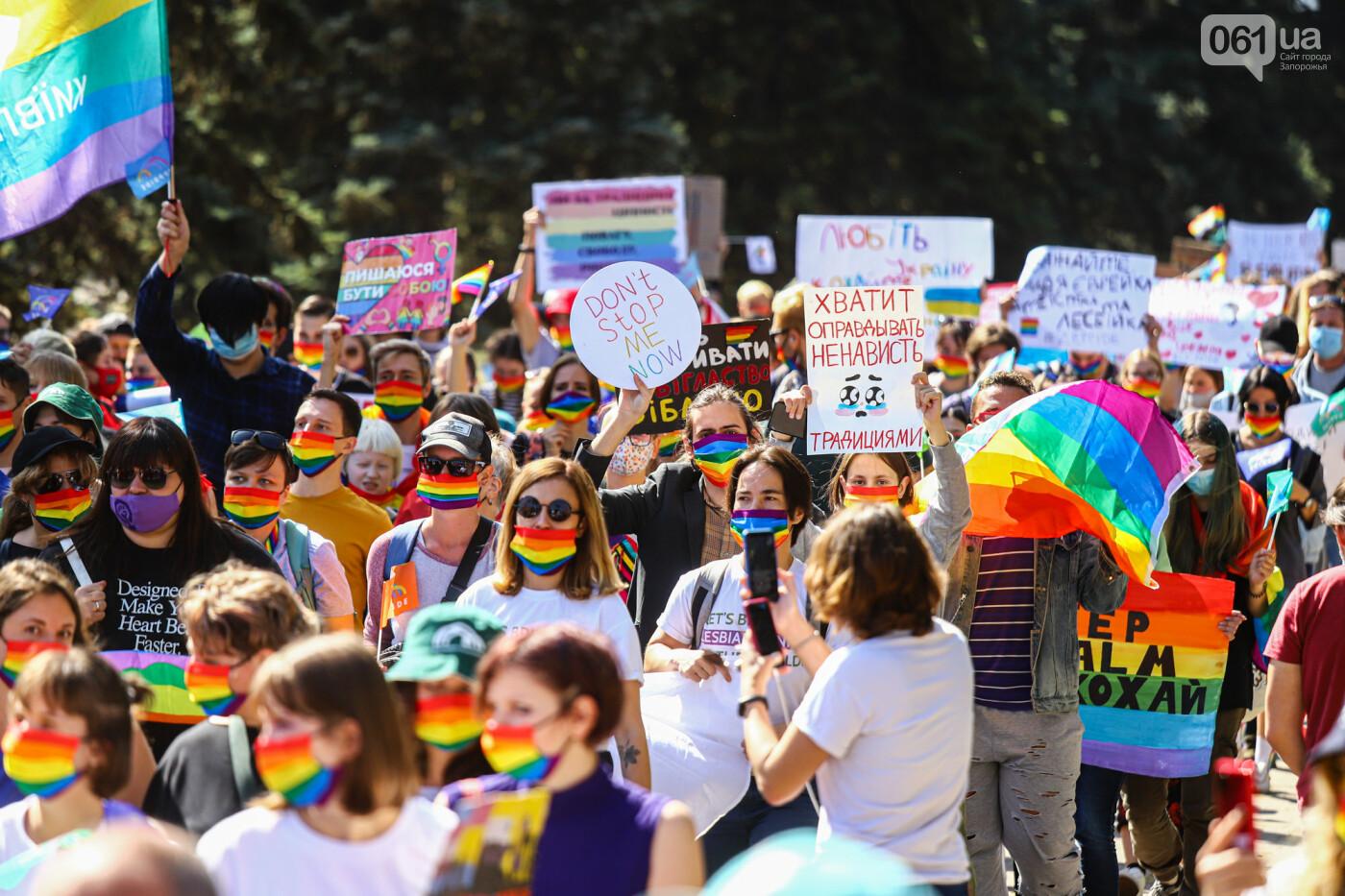 ЛГБТ-прайд, эко-митинг и восстановленные скульптуры в сквере Пионеров: сентябрь в фотографиях , фото-112