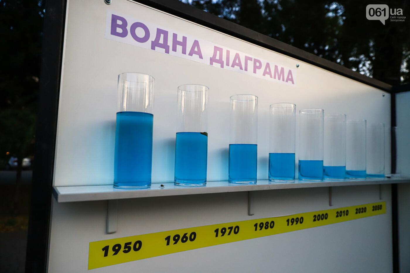 Огромная стиральная машина и комната из фольги: в центре Запорожья открылась эко-выставка, - ФОТОРЕПОРТАЖ , фото-13