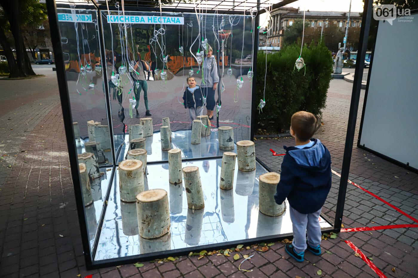 Огромная стиральная машина и комната из фольги: в центре Запорожья открылась эко-выставка, - ФОТОРЕПОРТАЖ , фото-20