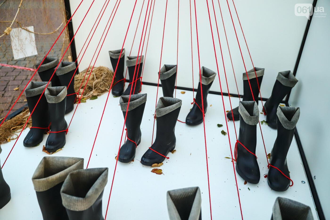 Огромная стиральная машина и комната из фольги: в центре Запорожья открылась эко-выставка, - ФОТОРЕПОРТАЖ , фото-27