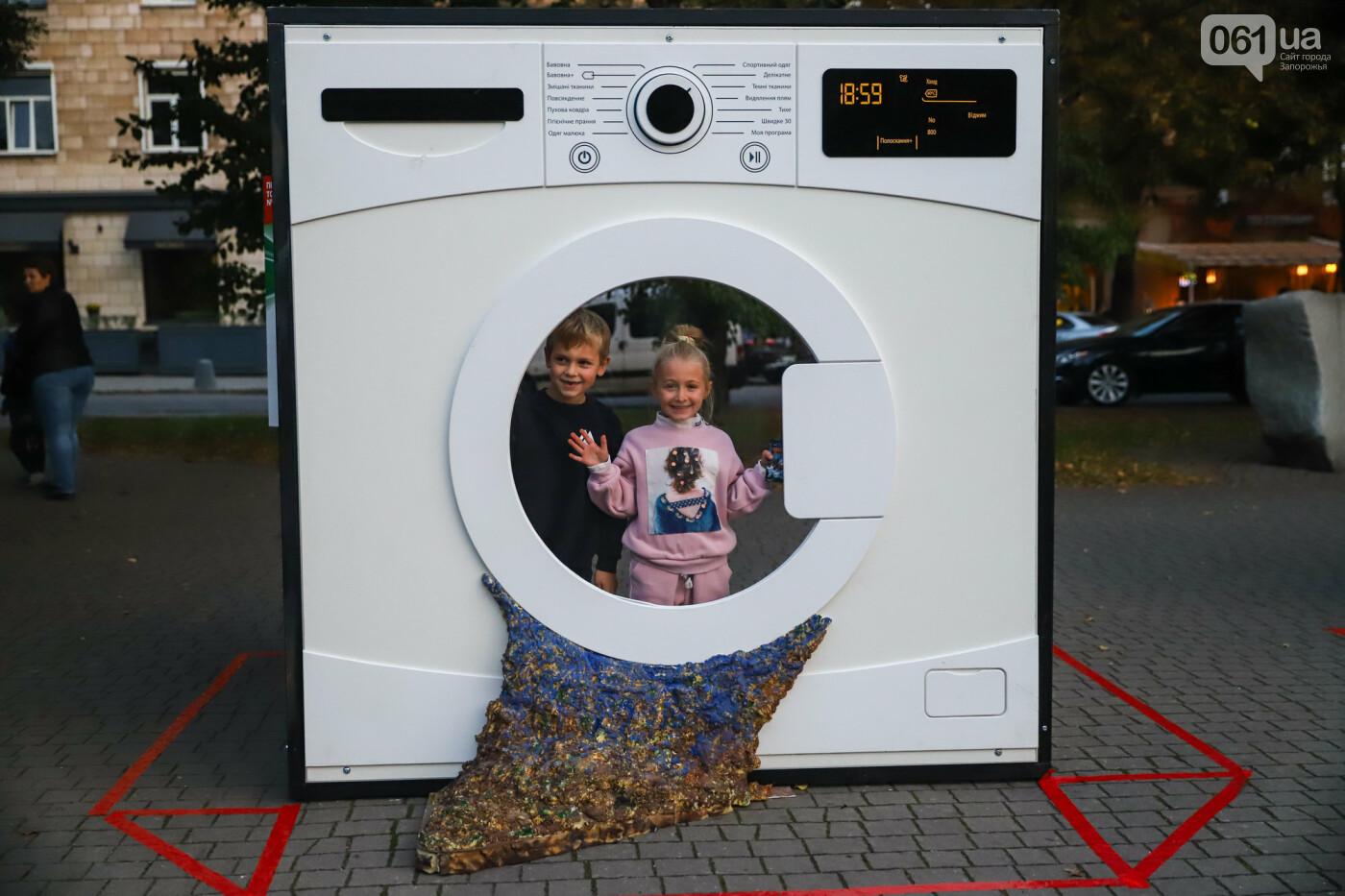 Огромная стиральная машина и комната из фольги: в центре Запорожья открылась эко-выставка, - ФОТОРЕПОРТАЖ , фото-32