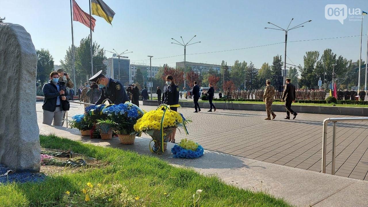 В Запорожье на площади Героев состоялось празднование Дня защитника Украины, - ФОТО, фото-9