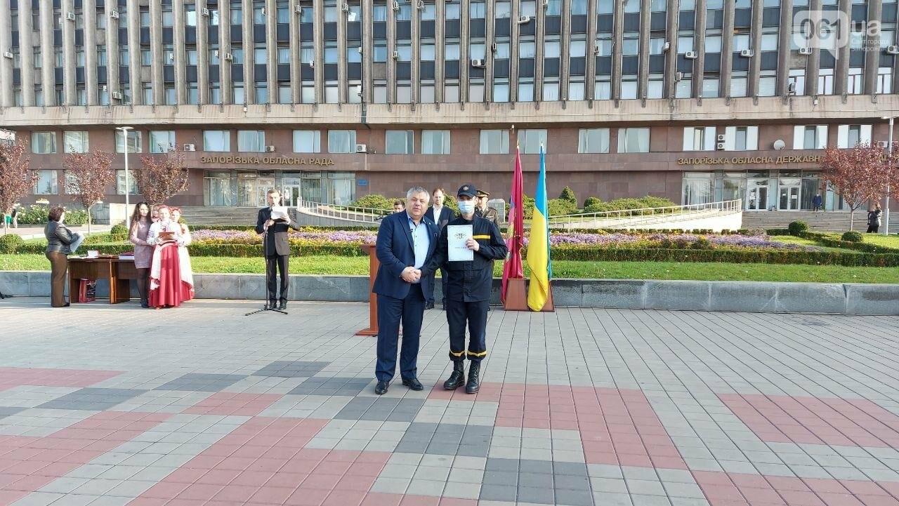В Запорожье на площади Героев состоялось празднование Дня защитника Украины, - ФОТО, фото-16