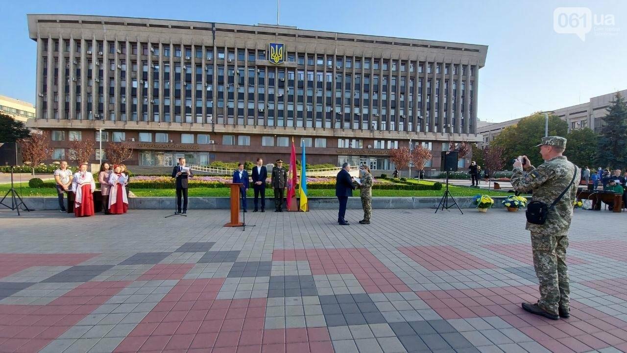 В Запорожье на площади Героев состоялось празднование Дня защитника Украины, - ФОТО, фото-4