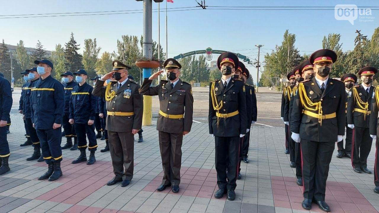 В Запорожье на площади Героев состоялось празднование Дня защитника Украины, - ФОТО, фото-6